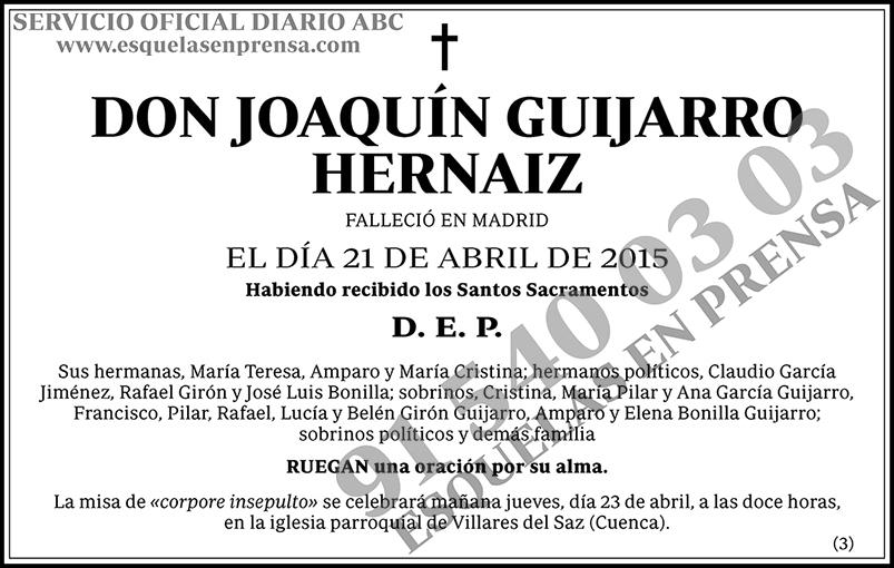 Joaquín Guijarro Hernaiz